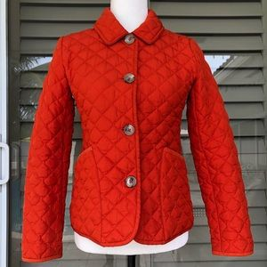 BANANA REPUBLIC Quilted Jacket XS Button closure